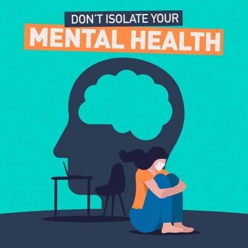 Coronavirus – Don't isolate your mental health