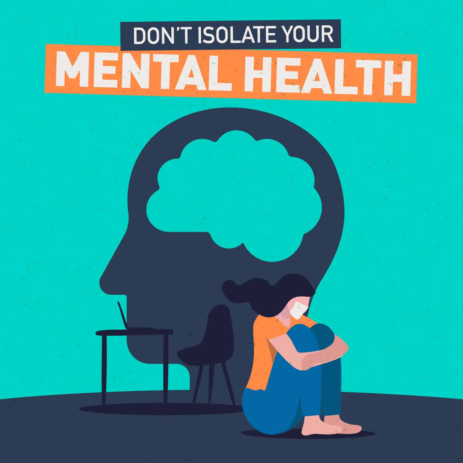 Coronavirus – Don't isolate your mental health