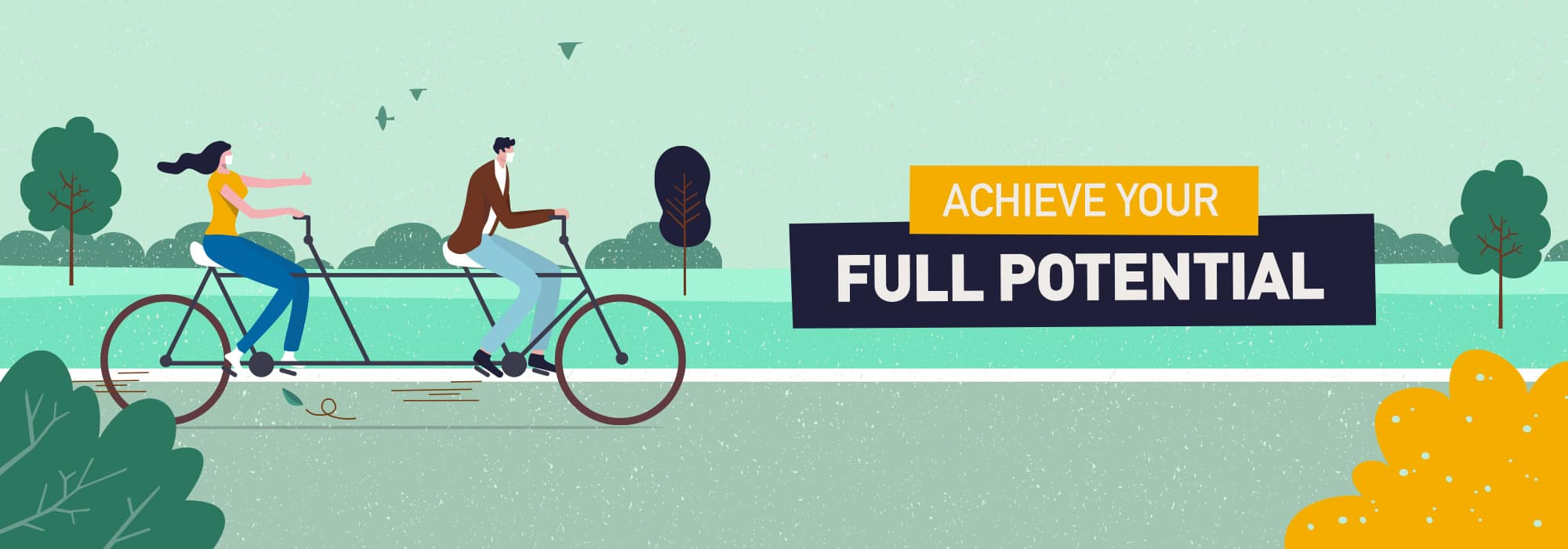 Achieve Your Full Potential…
