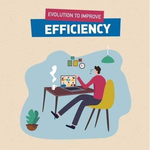 Evolution to Improve Efficiency